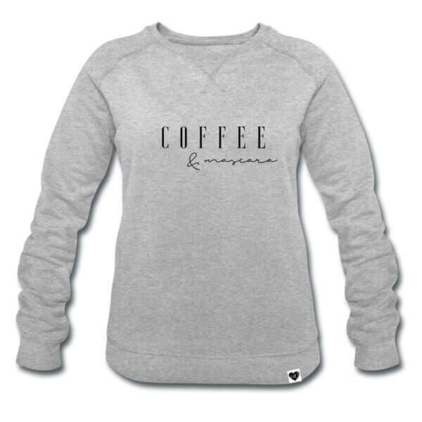 COFFEE AND MASCARA Sweater grau VOGUE.AT.HEART Fair Fashion