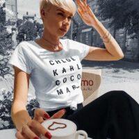 Chloé Karl Coco Marc Shirt weiß VOGUE.AT.HEART