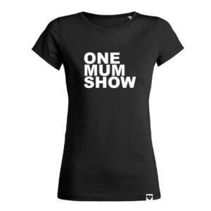 ONE MUM SHOW Shirt schwarz VOGUE.AT.HEART