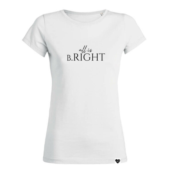ALL IS BRIGHT Shirt weiß Christmas Collection VOGUE.AT.HEART